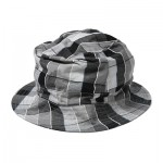 COURIER HAT - COTTON BLOCK CHECK